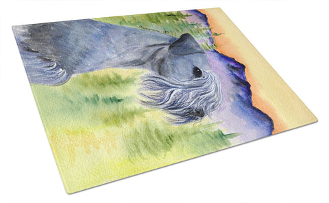 Buy this Cesky Terrier Glass Cutting Board Large