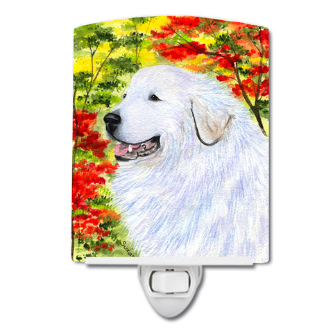 Buy this Great Pyrenees Ceramic Night Light SS8235CNL
