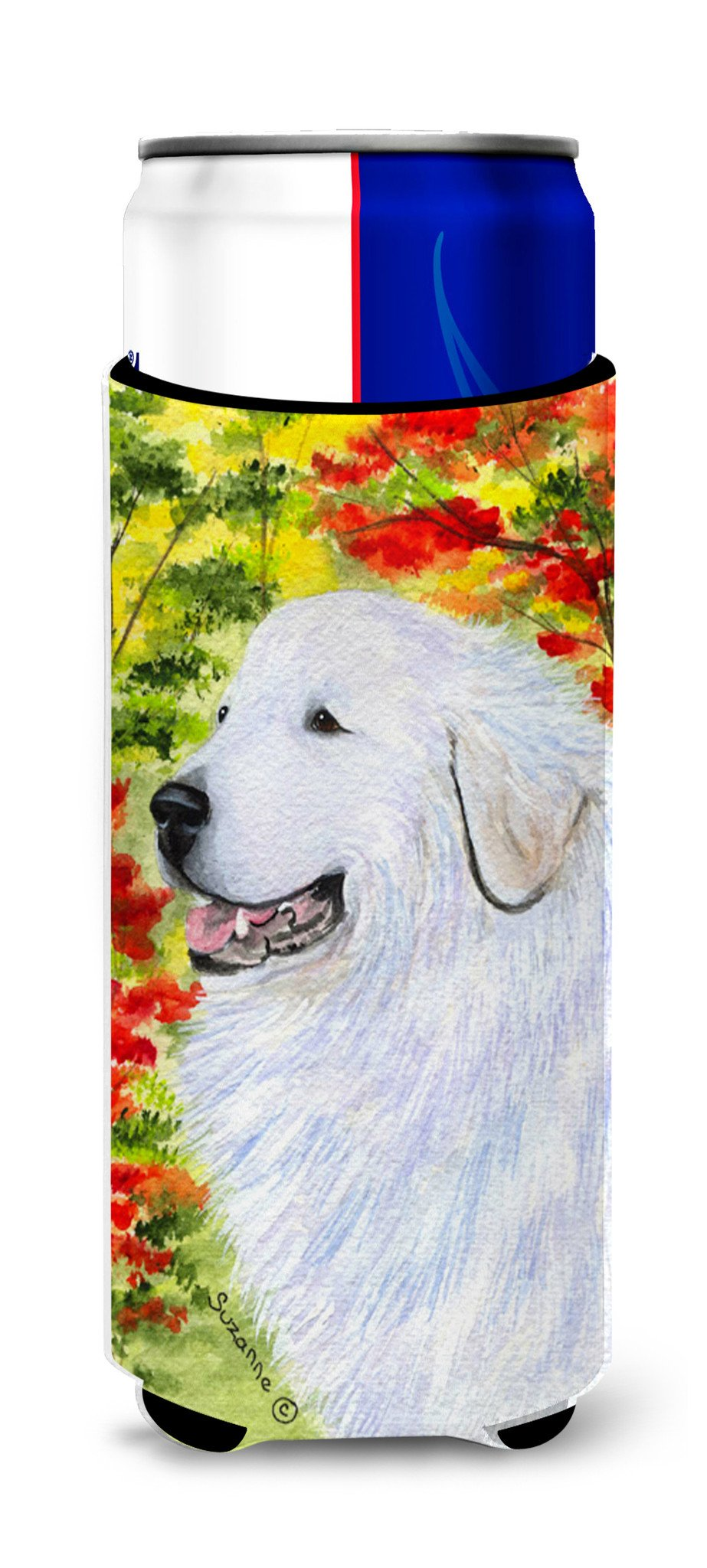 Great Pyrenees Ultra Beverage Insulators for slim cans SS8235MUK by Caroline's Treasures
