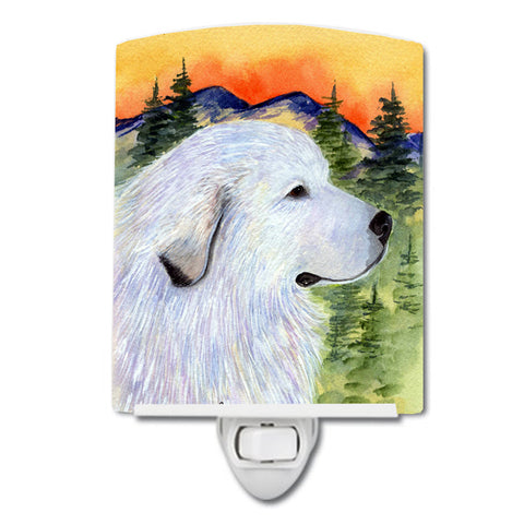 Buy this Great Pyrenees Ceramic Night Light SS8236CNL