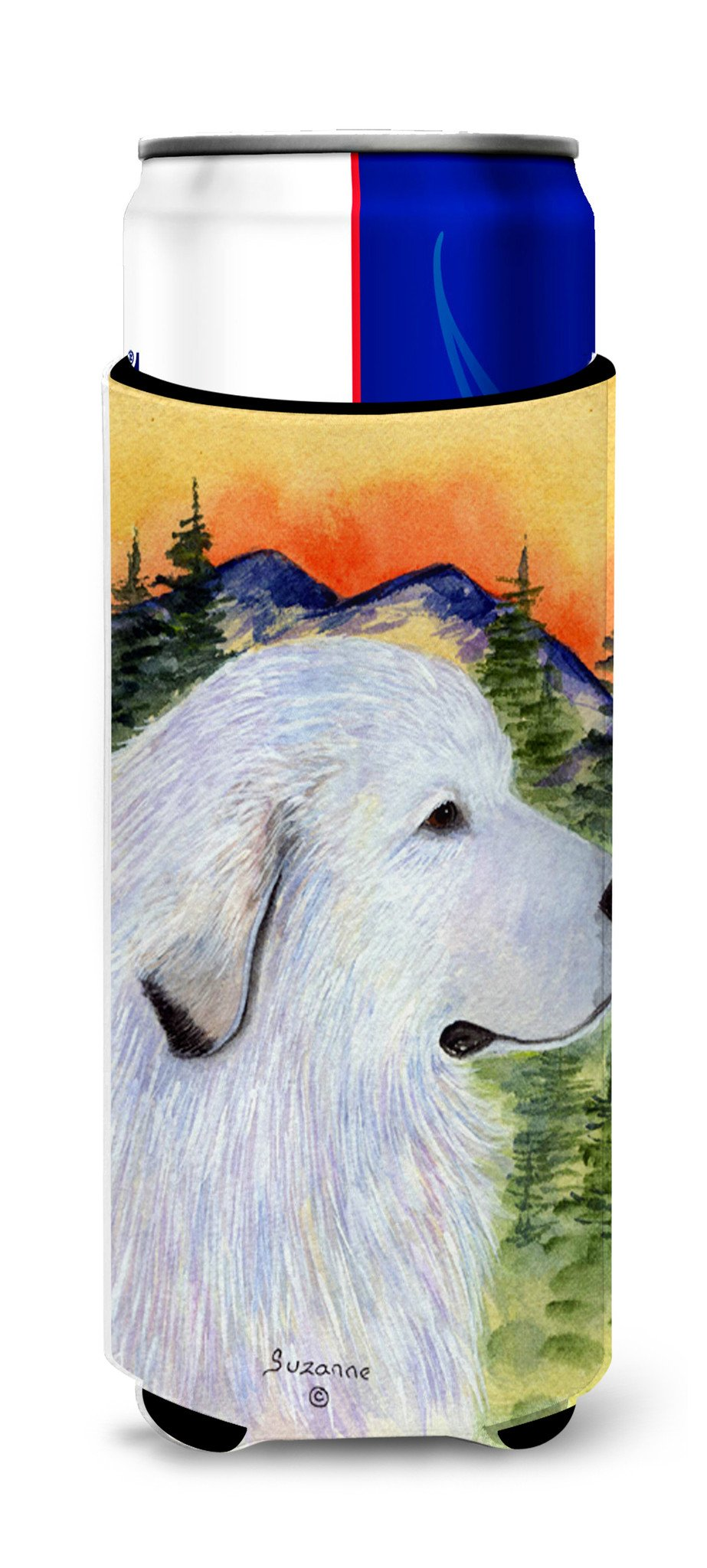 Great Pyrenees Ultra Beverage Insulators for slim cans SS8236MUK by Caroline's Treasures