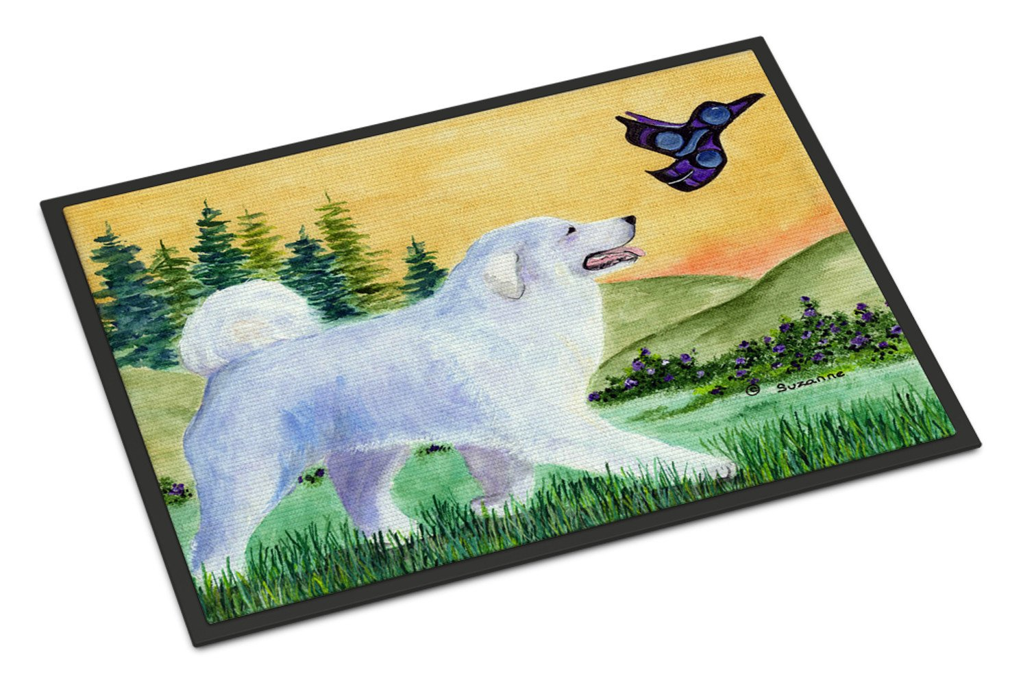 Great Pyrenees Indoor or Outdoor Mat 18x27 Doormat - the-store.com