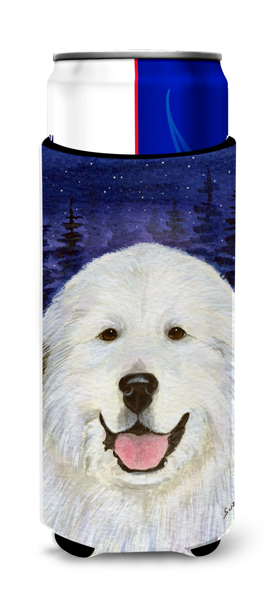 Great Pyrenees Ultra Beverage Insulators for slim cans SS8242MUK by Caroline's Treasures