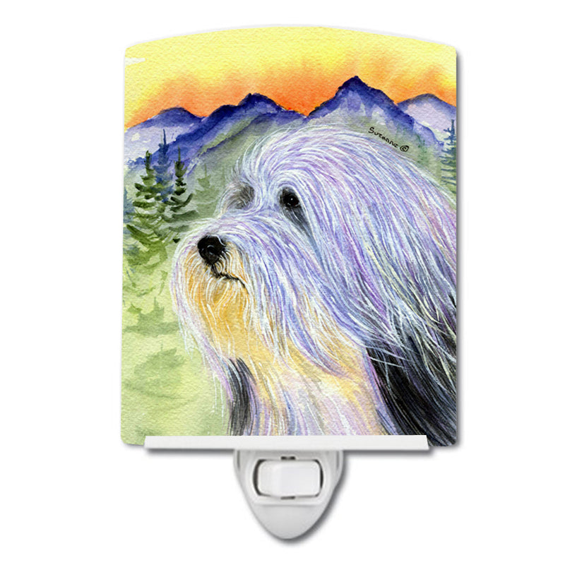 Buy this Bearded Collie Ceramic Night Light SS8244CNL