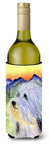 Bearded Collie Wine Bottle Beverage Insulator Beverage Insulator Hugger SS8244LITERK by Caroline's Treasures