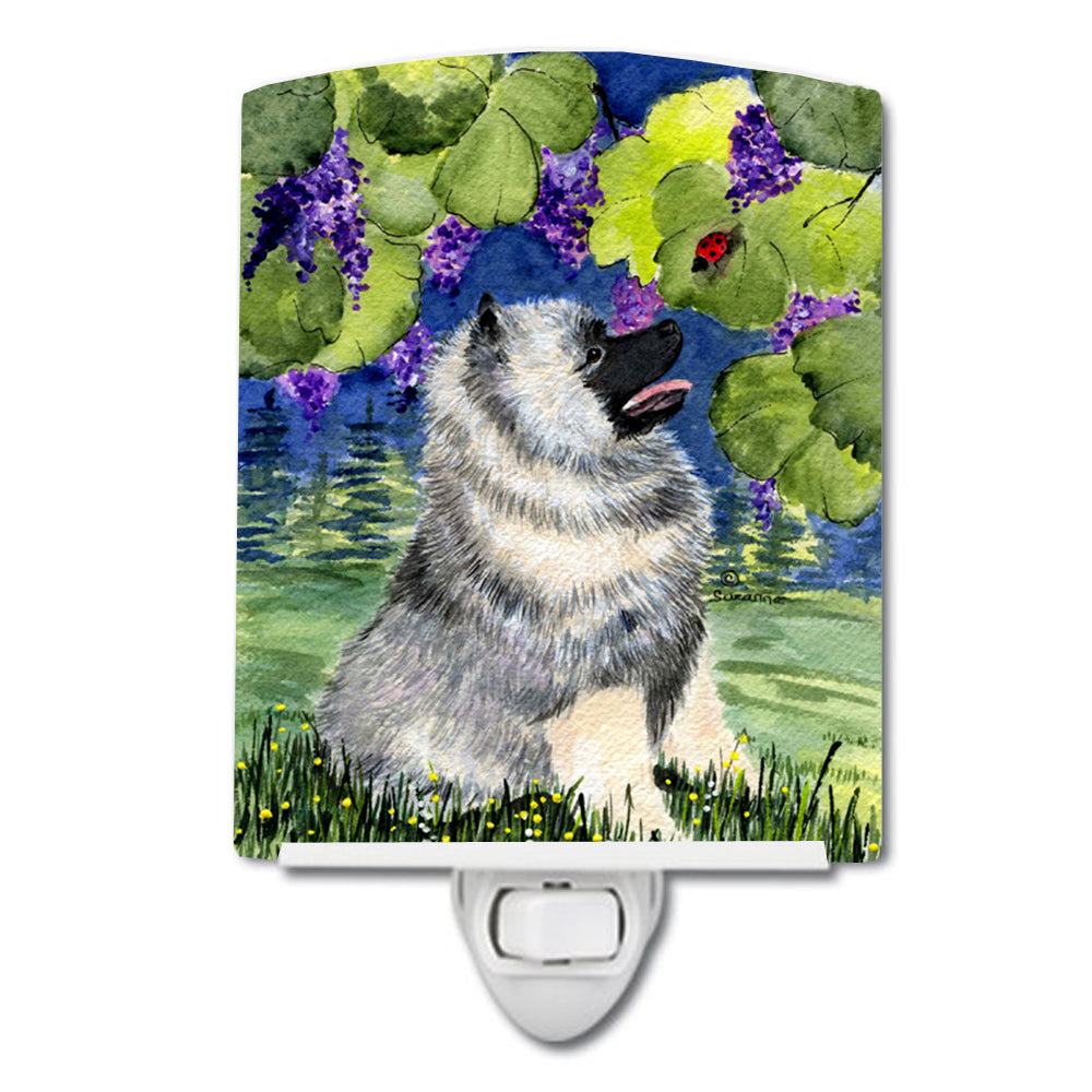 Buy this Keeshond Ceramic Night Light SS8249CNL