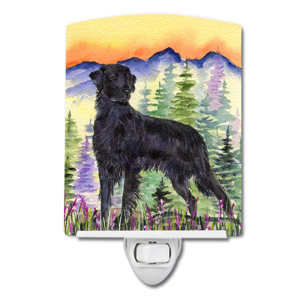 Buy this Flat Coated Retriever Ceramic Night Light SS8263CNL