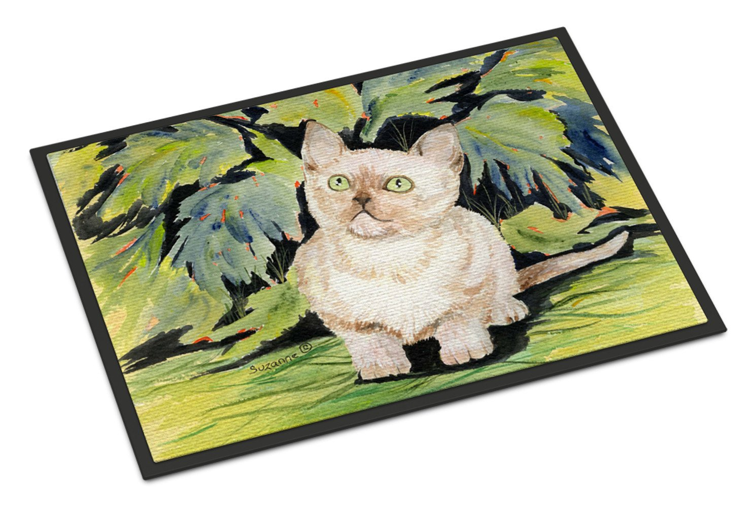 Cat - Burmese Indoor or Outdoor Mat 18x27 Doormat - the-store.com