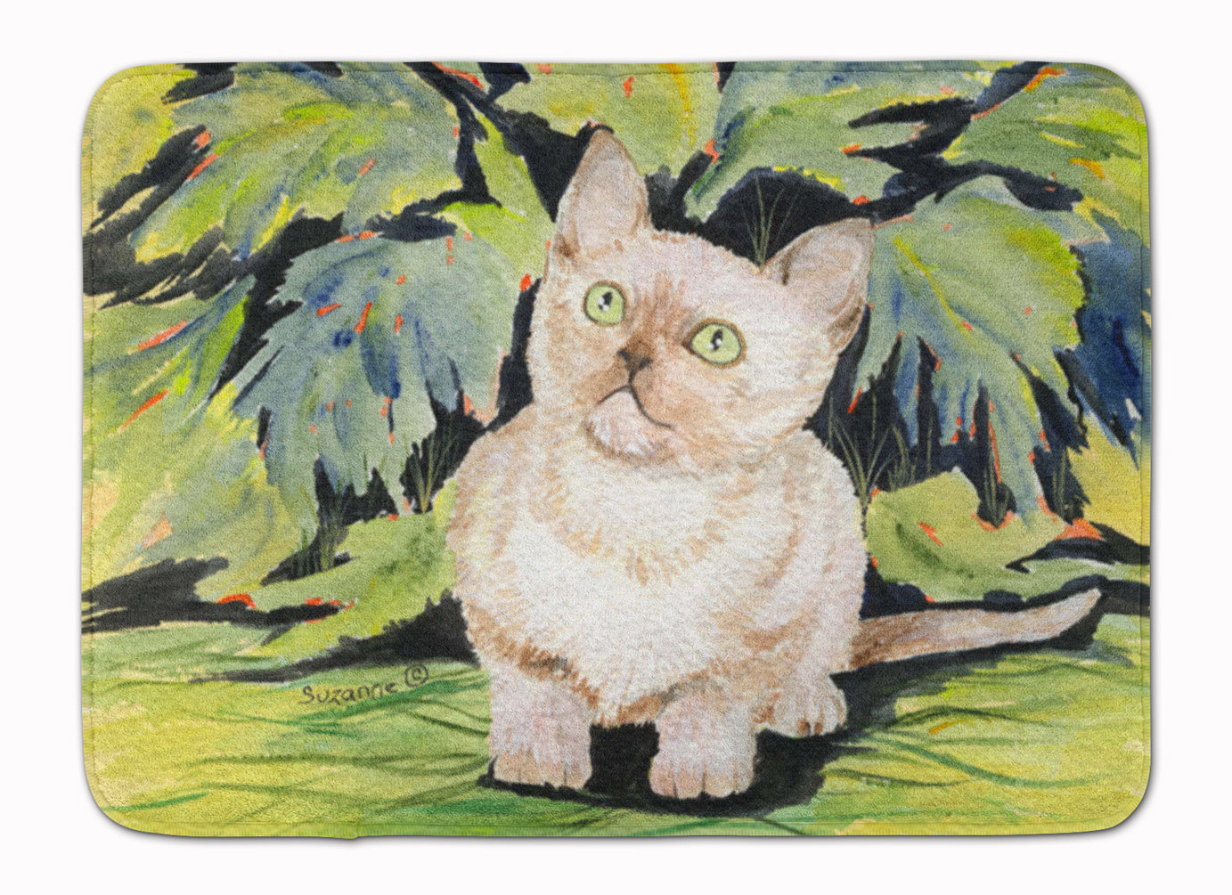 Cat - Burmese Machine Washable Memory Foam Mat SS8265RUG by Caroline's Treasures
