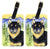 Buy this Pair of 2 Shiba Inu Luggage Tags