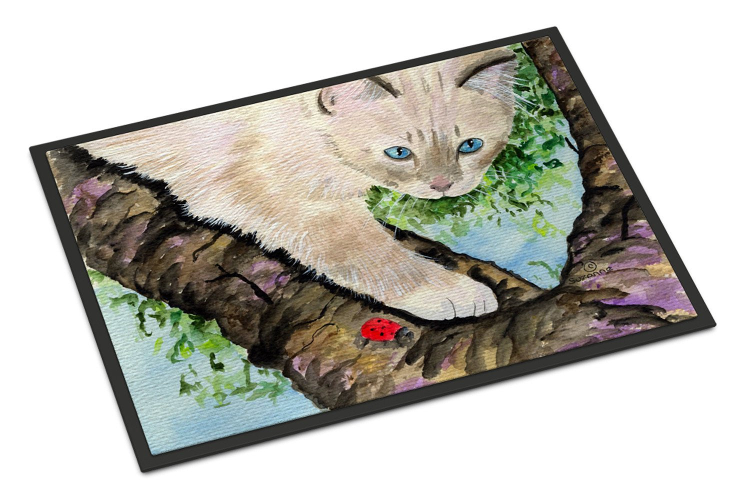 Cat - Birman Indoor or Outdoor Mat 18x27 Doormat - the-store.com