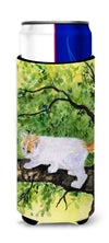 Cat - Turkish Van Ultra Beverage Insulators for slim cans SS8277MUK by Caroline's Treasures