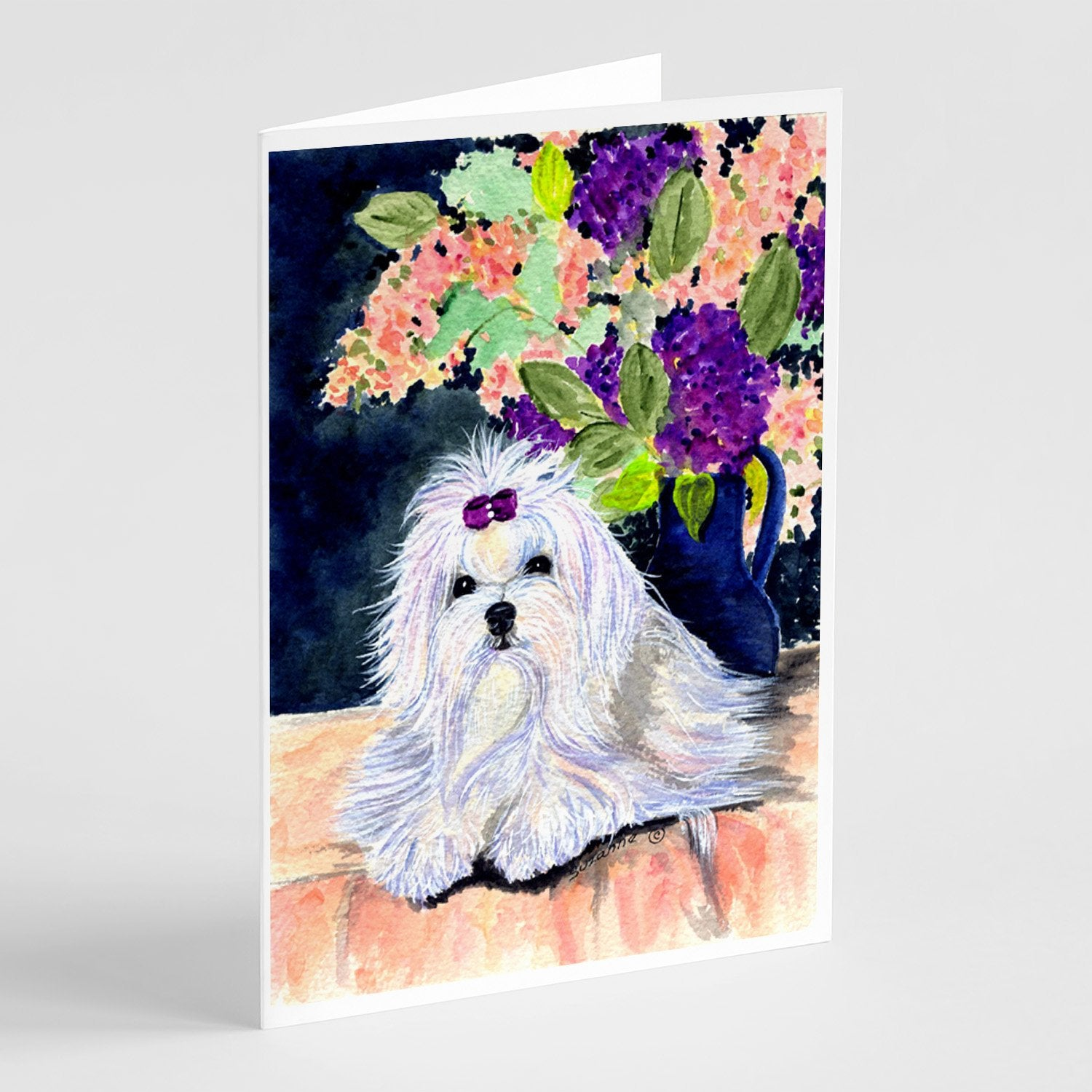 Buy this Maltese Greeting Cards and Envelopes Pack of 8