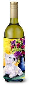 Westie Wine Bottle Beverage Insulator Beverage Insulator Hugger SS8301LITERK by Caroline's Treasures