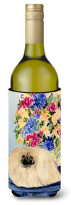 Pekingese Wine Bottle Beverage Insulator Beverage Insulator Hugger by Caroline's Treasures