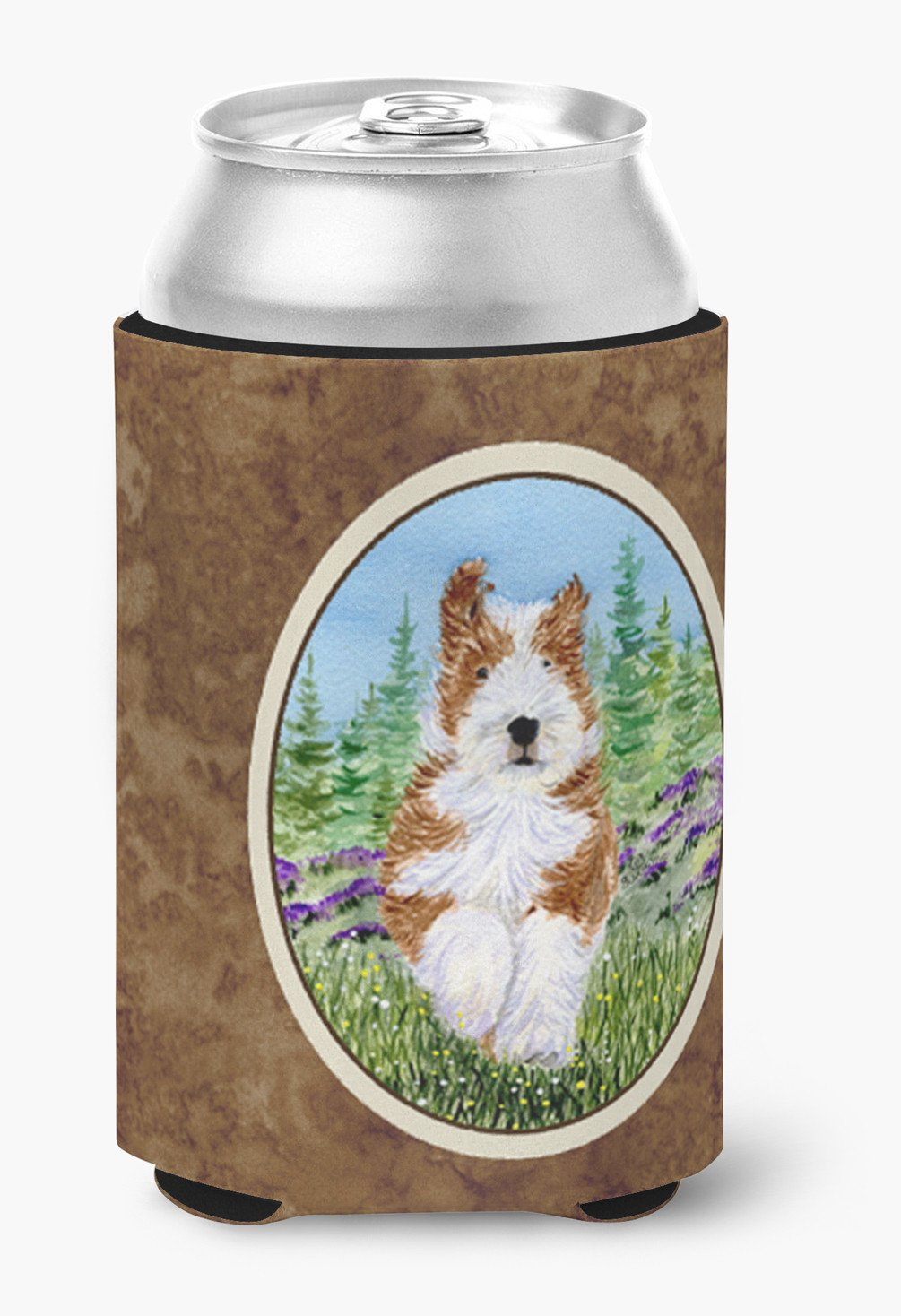 Bearded Collie Can or Bottle Beverage Insulator Hugger by Caroline's Treasures