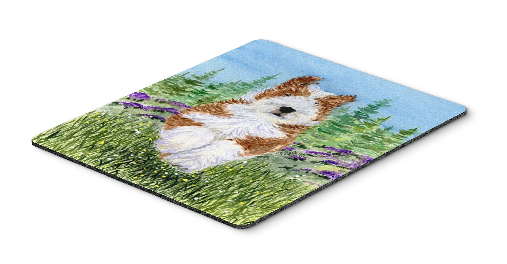 Bearded Collie Mouse Pad / Hot Pad / Trivet by Caroline's Treasures