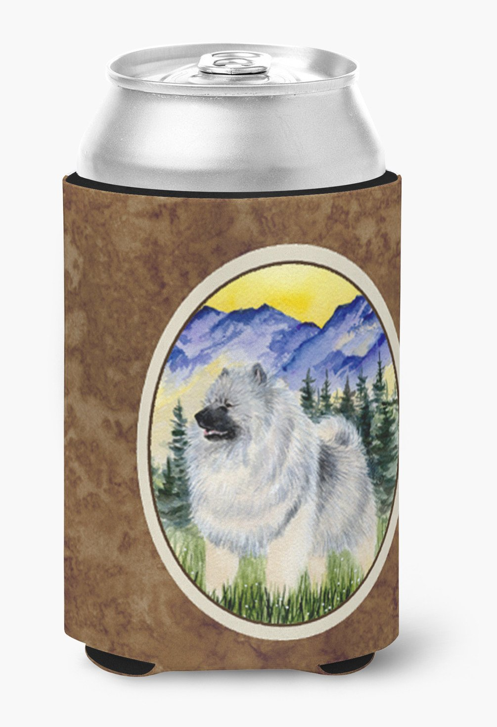 Keeshond Can or Bottle Beverage Insulator Hugger by Caroline's Treasures