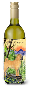 Shar Pei Wine Bottle Beverage Insulator Beverage Insulator Hugger SS8324LITERK by Caroline's Treasures