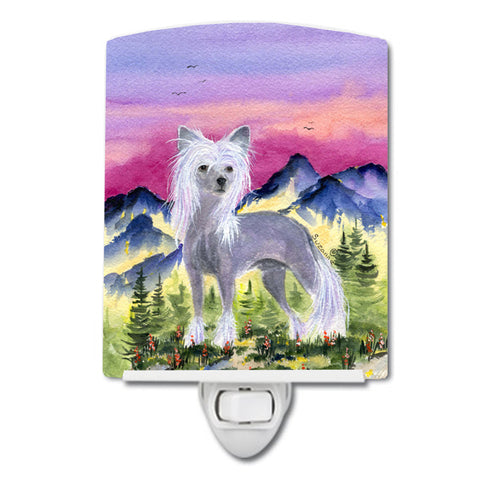 Buy this Chinese Crested Ceramic Night Light SS8326CNL