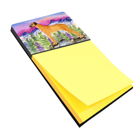 Buy this Rhodesian Ridgeback Refiillable Sticky Note Holder or Postit Note Dispenser SS8327SN