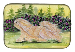 Buy this Lhasa Apso Dish Drying Mat SS8328DDM