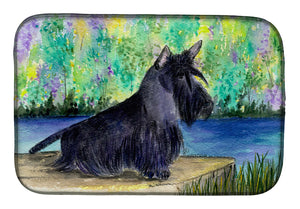 Buy this Scottish Terrier Dish Drying Mat SS8330DDM