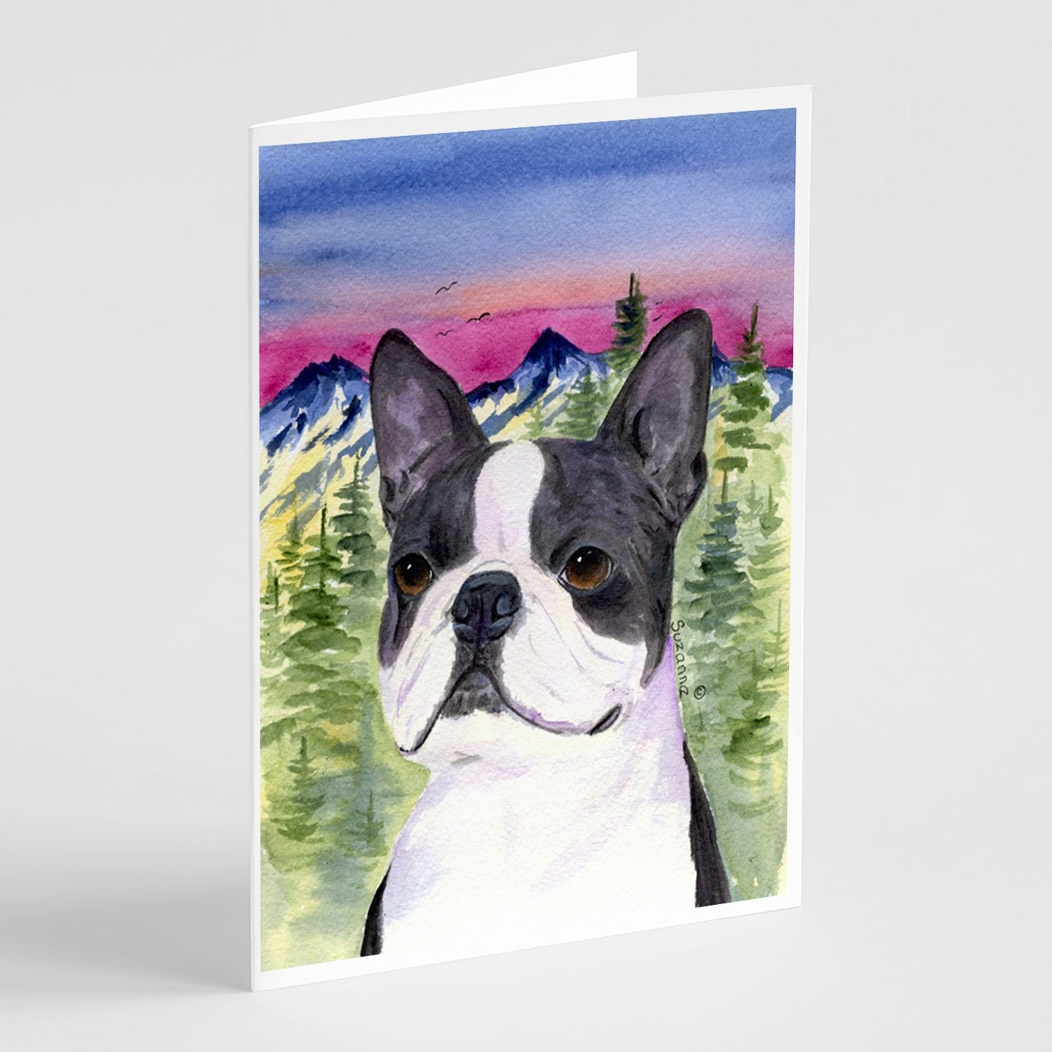 Buy this Boston Terrier Greeting Cards and Envelopes Pack of 8