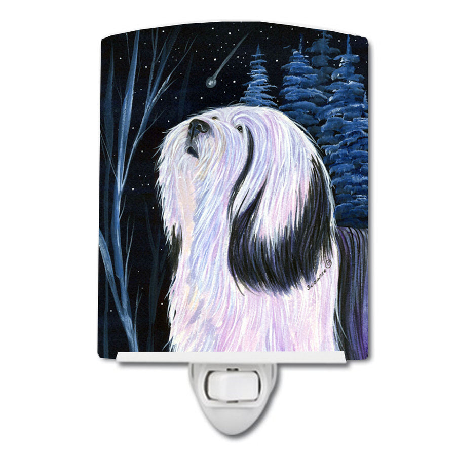 Buy this Tibetan Terrier Ceramic Night Light SS8348CNL