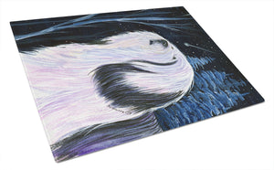 Buy this Tibetan Terrier Glass Cutting Board Large