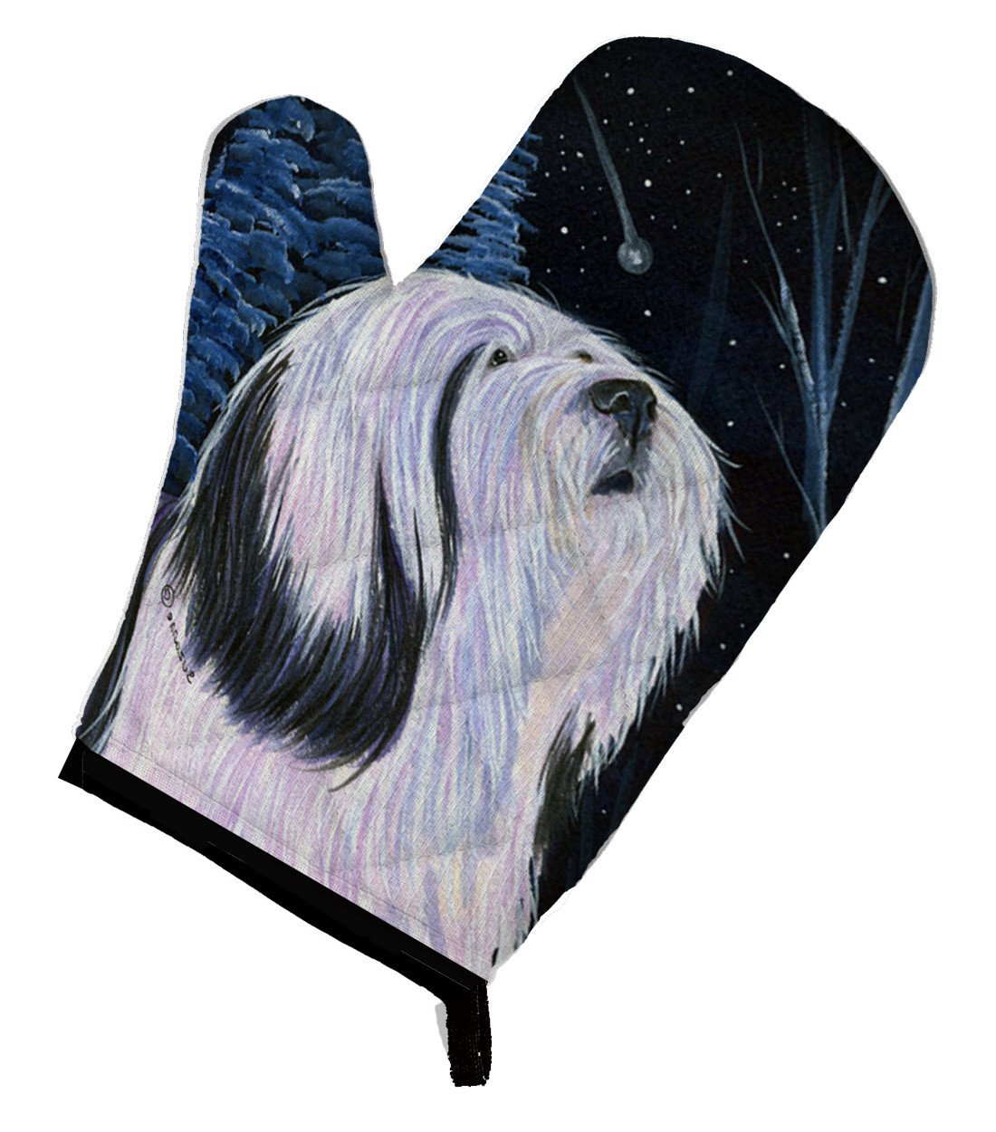 Buy this Tibetan Terrier Oven Mitt SS8348OVMT