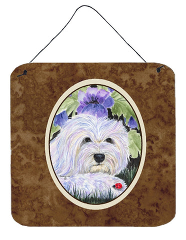 Buy this Coton de Tulear Aluminium Metal Wall or Door Hanging Prints