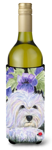 Buy this Coton de Tulear Wine Bottle Beverage Insulator Beverage Insulator Hugger