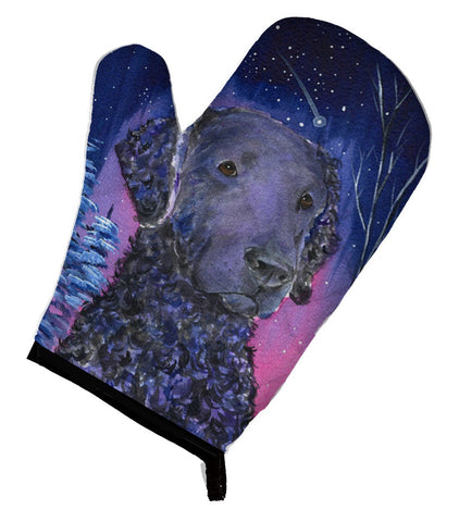 Buy this Starry Night Curly Coated Retriever Oven Mitt SS8354OVMT