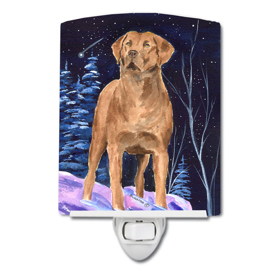 Buy this Starry Night Chesapeake Bay Retriever Ceramic Night Light SS8355CNL