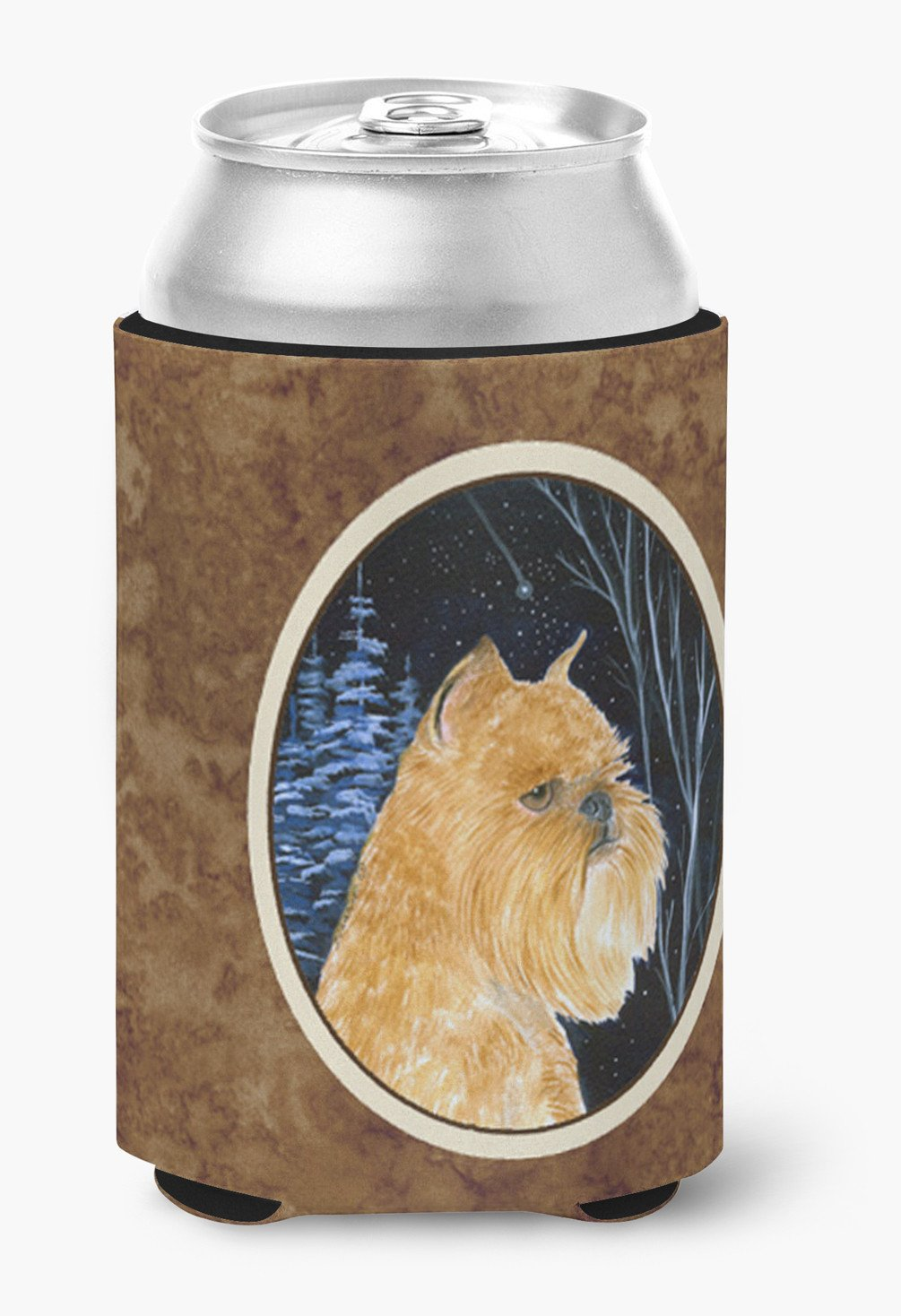 Starry Night Brussels Griffon Can or Bottle Beverage Insulator Hugger by Caroline's Treasures