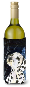 Buy this Starry Night Dalmatian Wine Bottle Beverage Insulator Beverage Insulator Hugger