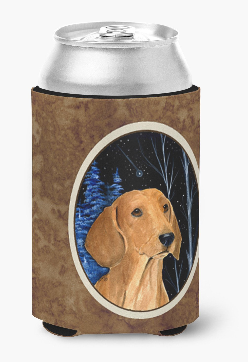 Buy this Starry Night Dachshund Can or Bottle Beverage Insulator Hugger