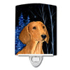 Buy this Starry Night Dachshund Ceramic Night Light SS8379CNL