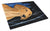 Buy this Starry Night Dachshund Glass Cutting Board Large