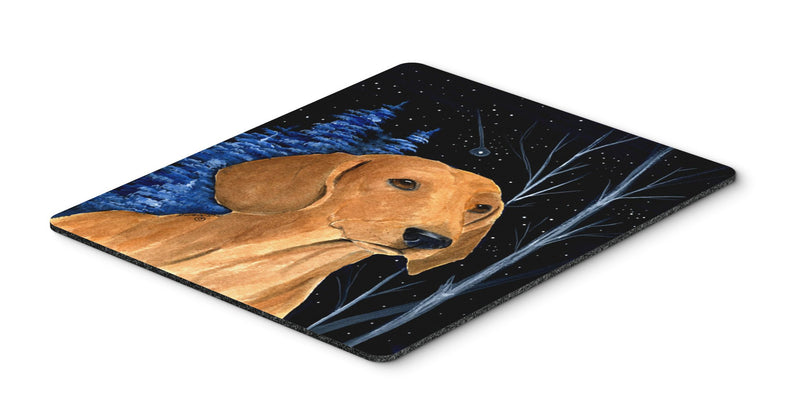 Buy this Starry Night Dachshund Mouse Pad / Hot Pad / Trivet