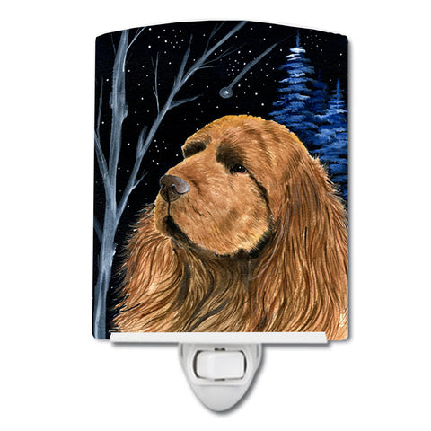 Buy this Starry Night Sussex Spaniel Ceramic Night Light SS8391CNL