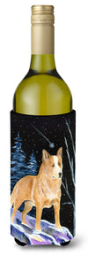 Buy this Starry Night Australian Cattle Dog Wine Bottle Beverage Insulator Beverage Insulator Hugger