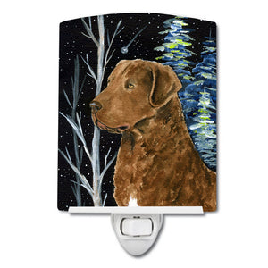 Buy this Starry Night Chesapeake Bay Retriever Ceramic Night Light SS8411CNL