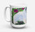 Buy this Keeshond Dishwasher Safe Microwavable Ceramic Coffee Mug 15 ounce SS8424CM15