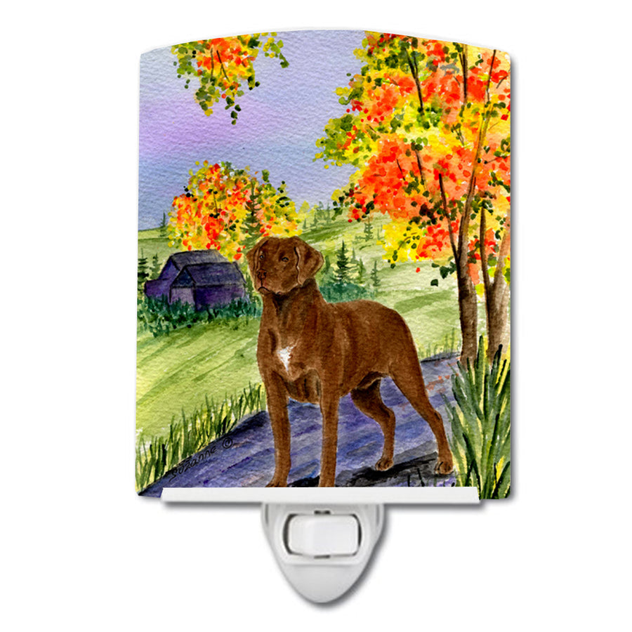Buy this Chesapeake Bay Retriever Ceramic Night Light SS8427CNL