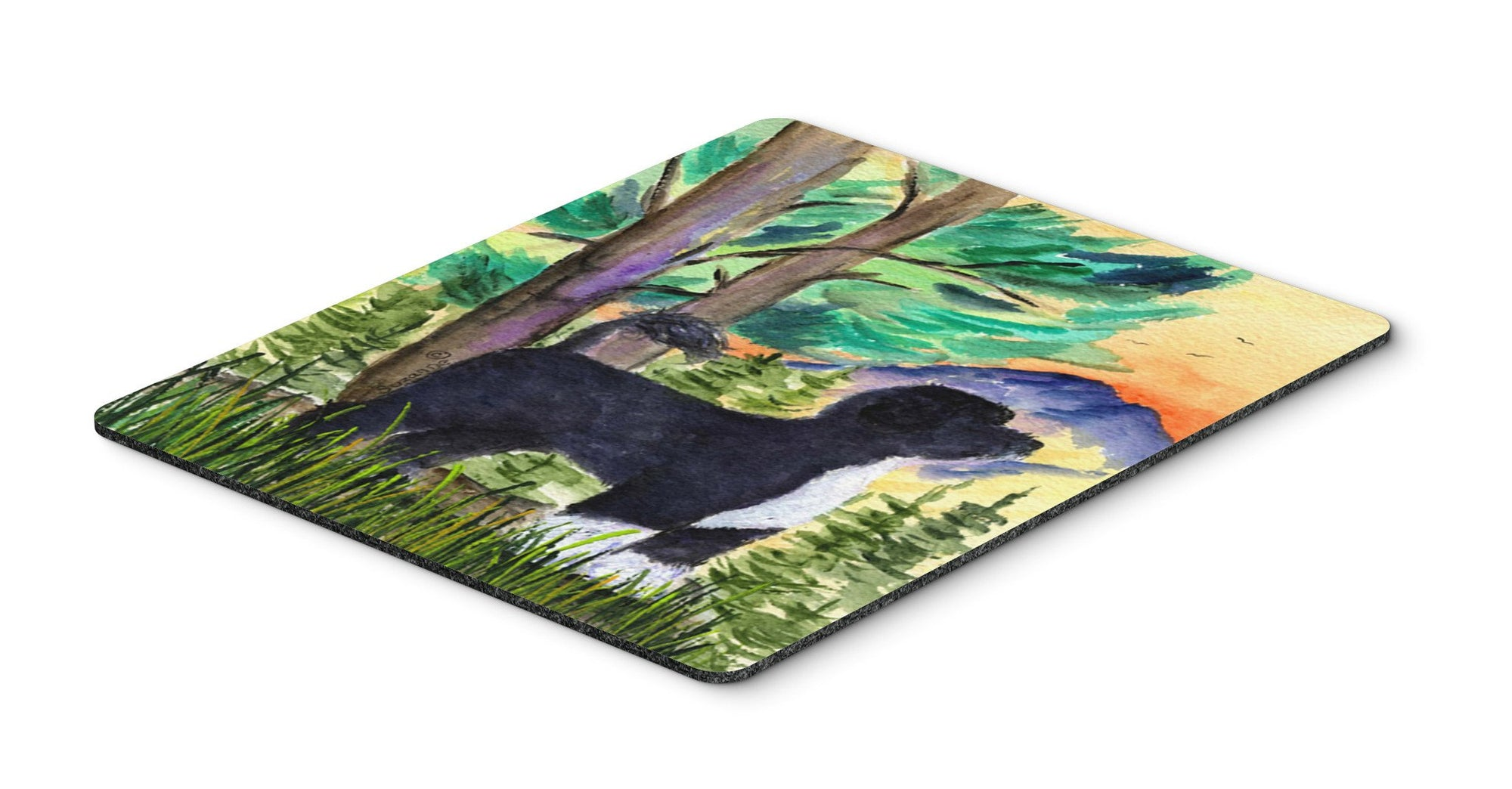 Portuguese Water Dog Mouse Pad / Hot Pad / Trivet by Caroline's Treasures