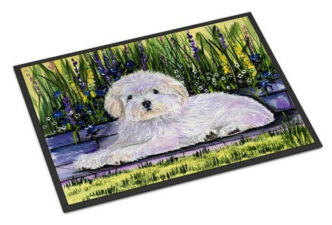 Buy this Coton de Tulear Indoor or Outdoor Mat 24x36 Doormat