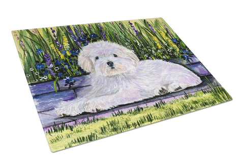 Buy this Coton de Tulear Glass Cutting Board Large