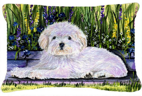 Buy this Coton de Tulear Decorative   Canvas Fabric Pillow